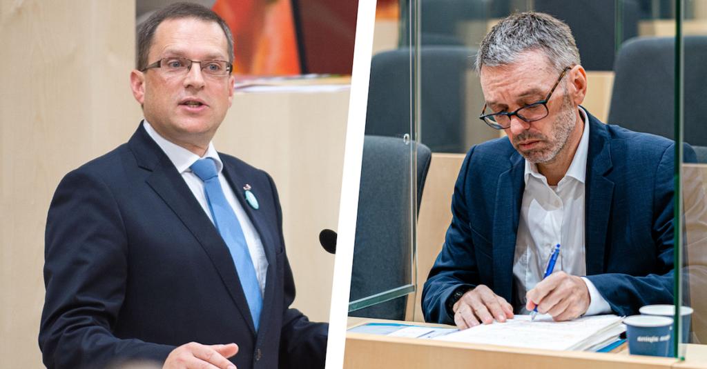 Fotos: ÖVP/ Jakob Glaser; Florian Schrötter