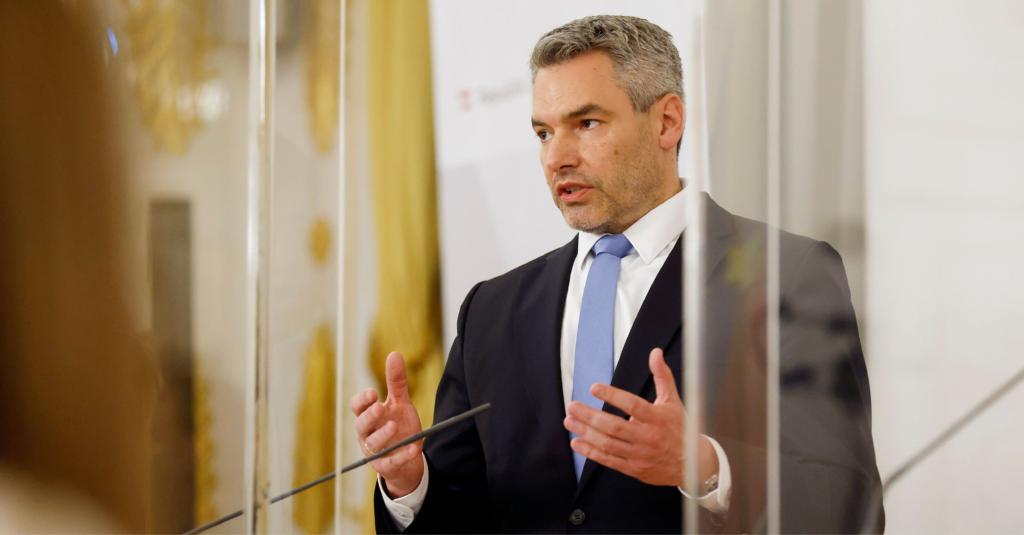 Innenminister Karl Nehammer; Foto: BKA/ Dragan Tatic