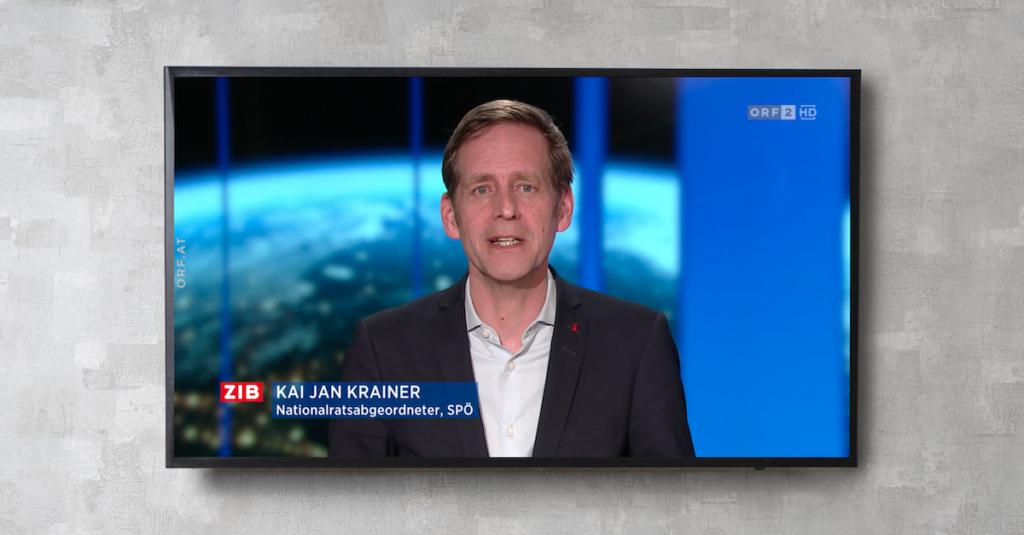 Kai Jan Krainer: nur eine mediale Theorie