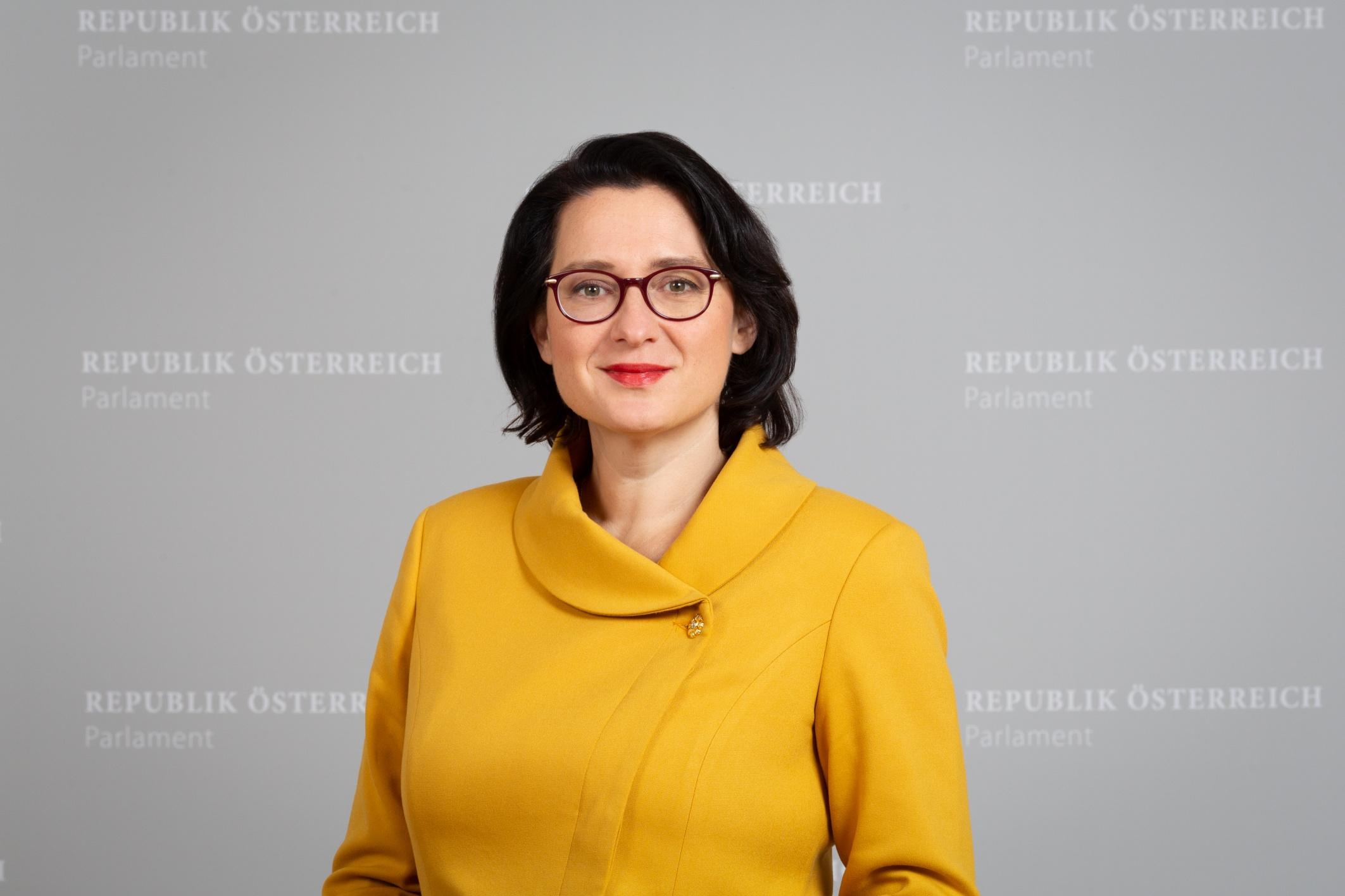 Gudrun Kugler, Foto: Parlamentsdirektion / Simonis