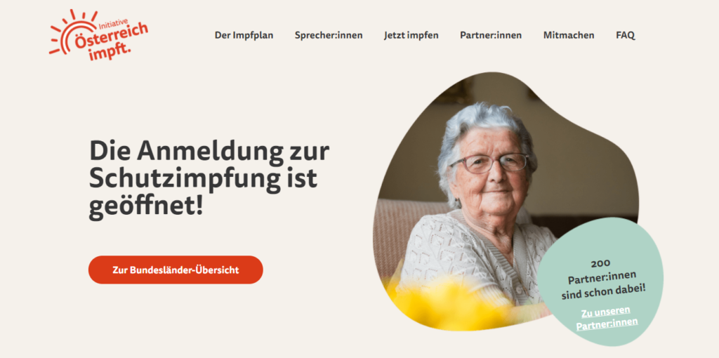 Foto: Screenshot/https://www.oesterreich-impft.at/