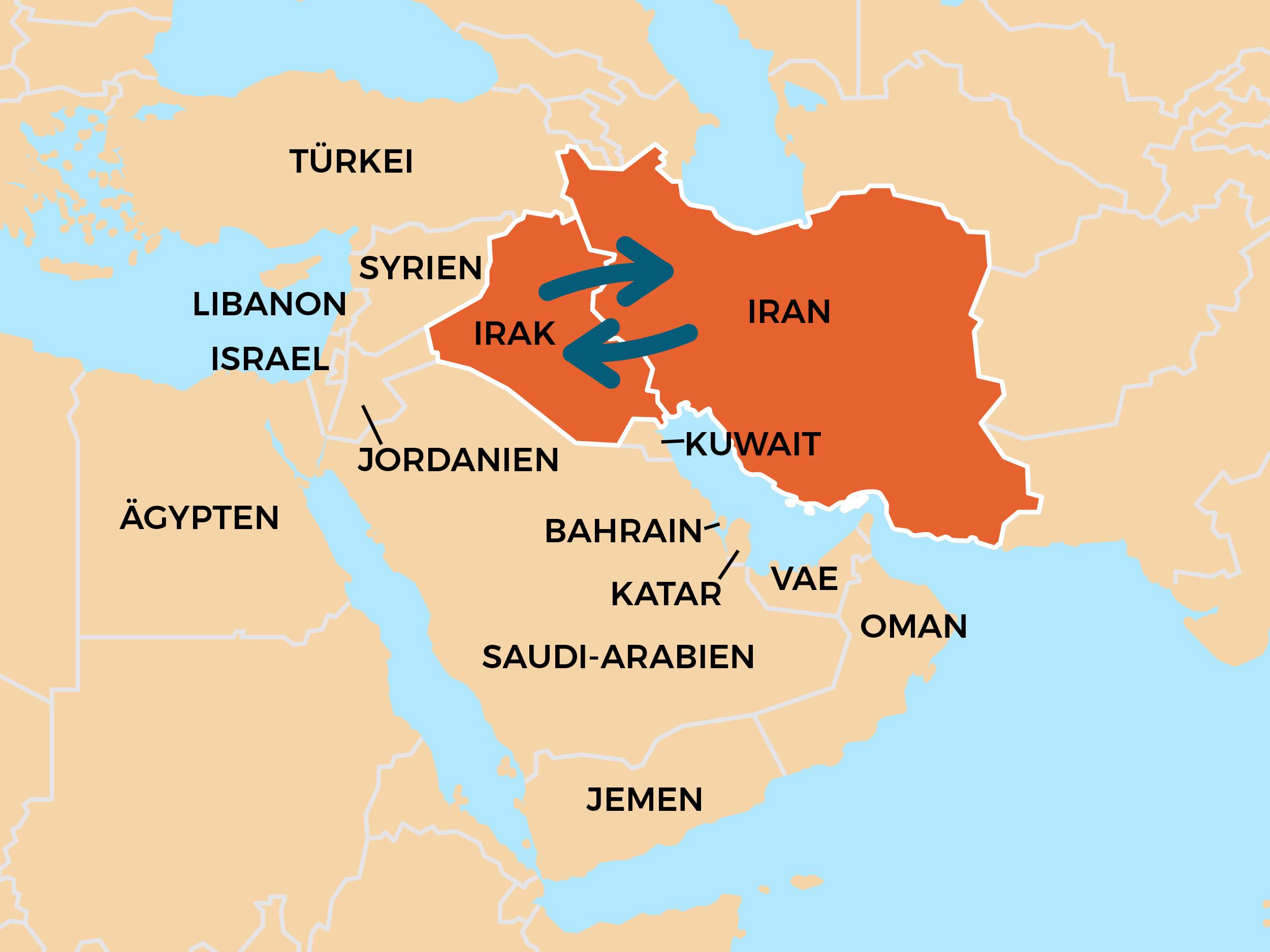 Zwischen Iran und Irak herrschte in den 1980er-Jahren der erste Golfkrieg. Noricum Waffen kamen auf beiden Seiten zum Einsatz.
