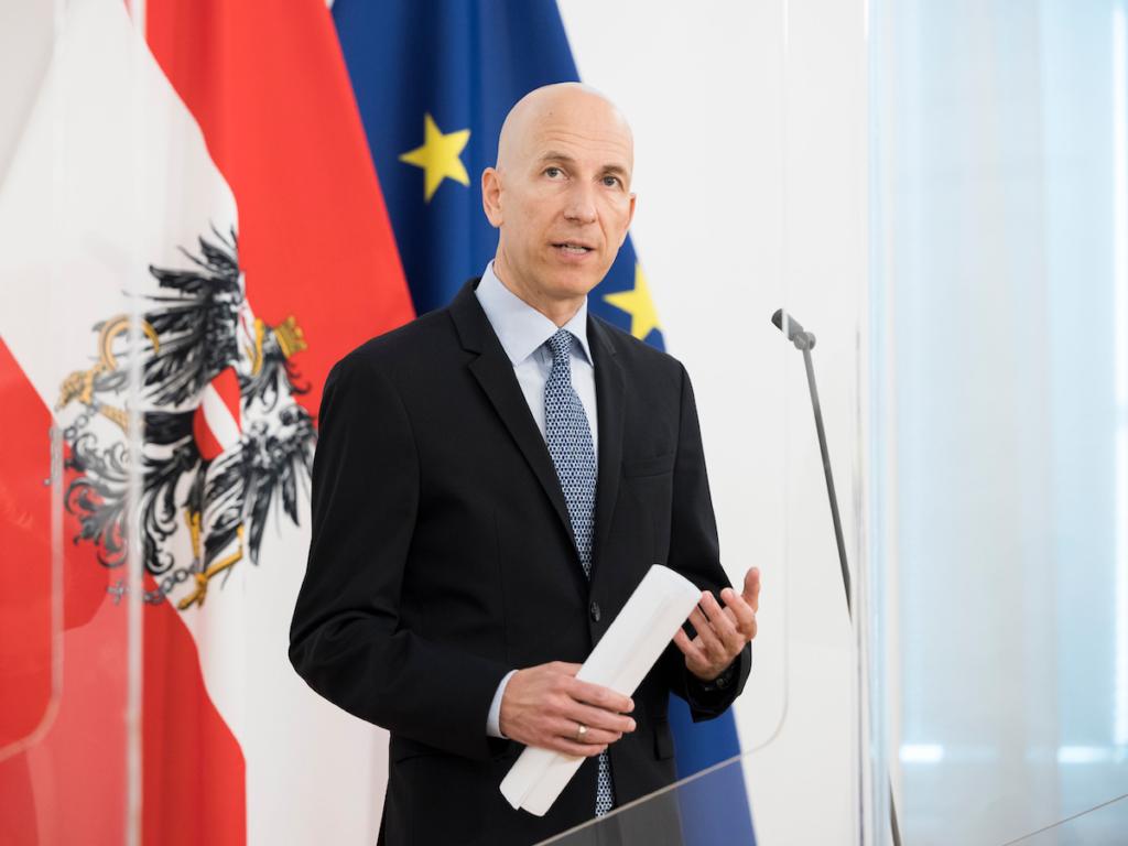 Arbeitsminister Martin Kocher; Foto: BKA