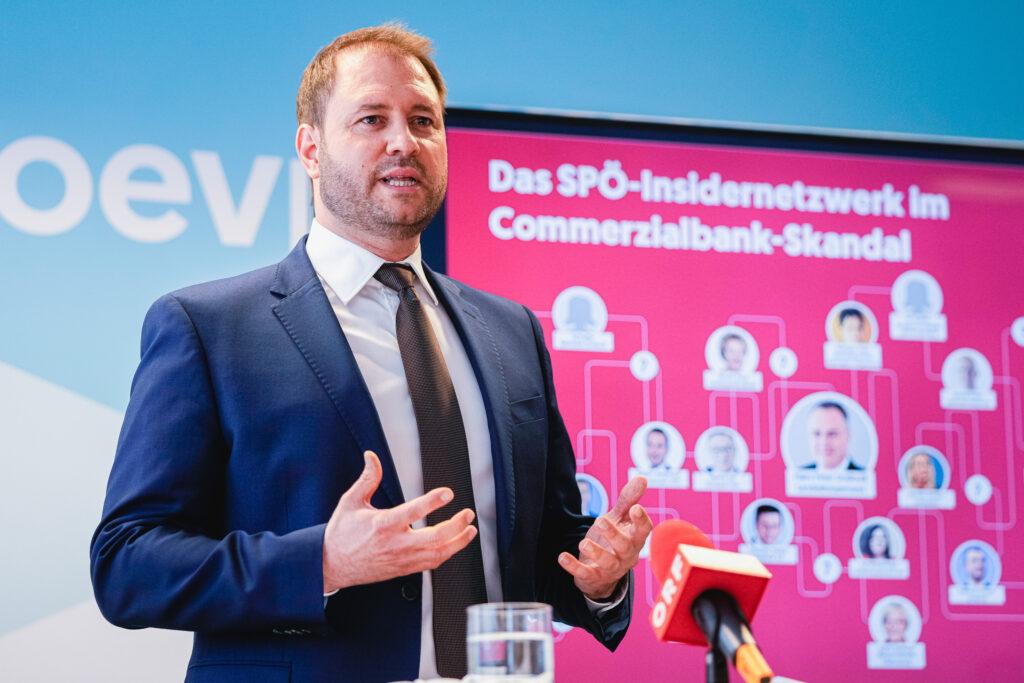 Christian Sagartz, Landesparteiobmann ÖVP Burgenland; Foto: ÖVP/Florian Schrötter