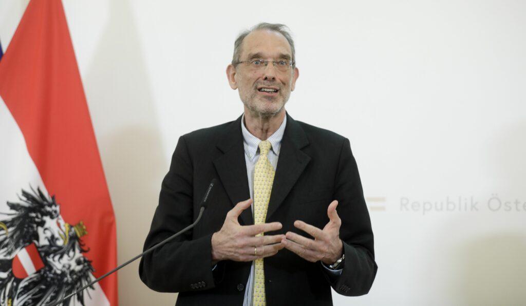 Bildungsminister Heinz Faßmann. Foto: BKA/ Andy Wenzel