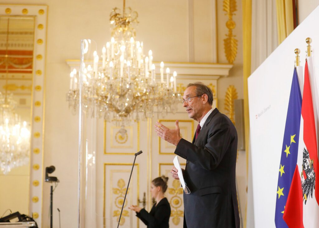 Bildungsminister Heinz Faßmann. Foto: BKA/ Dragan Tatic