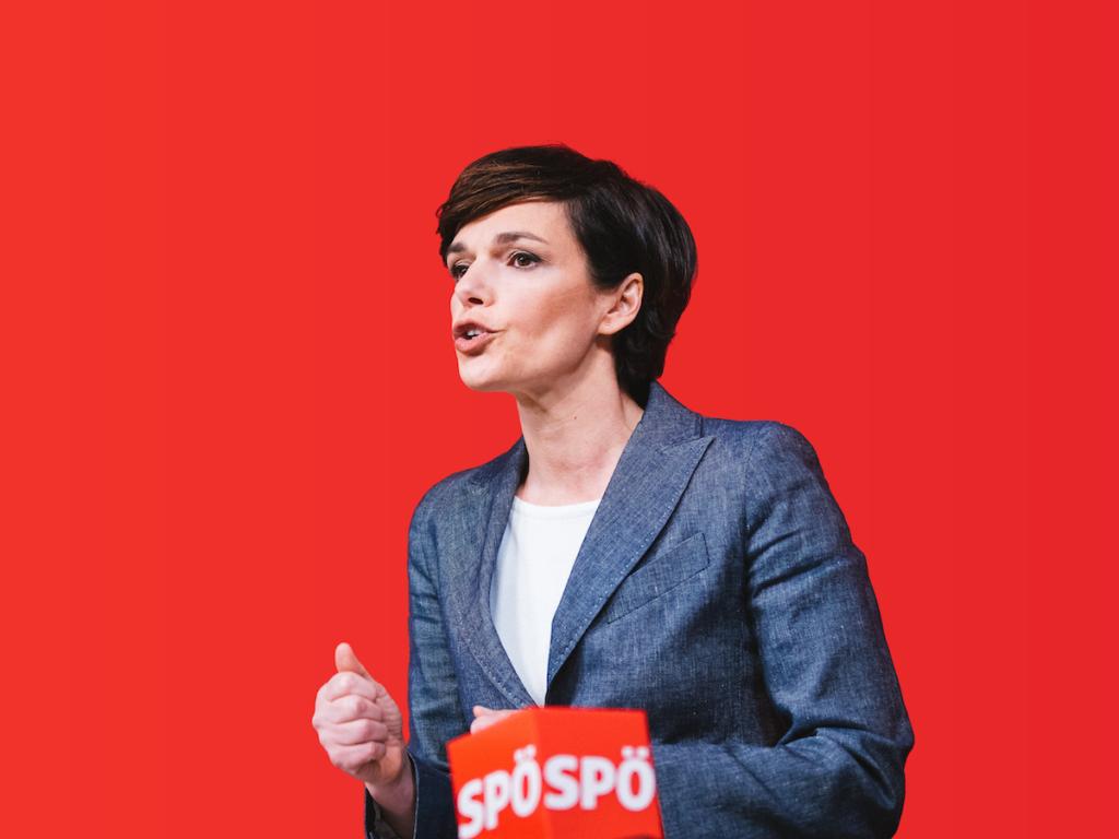 SPÖ-Chefin Pamela Rendi-Wagner; Foto: Florian Schrötter