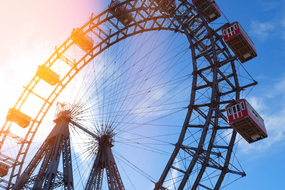 Das Riesenrad am Prater, Foto: iStock/ Leonsbox