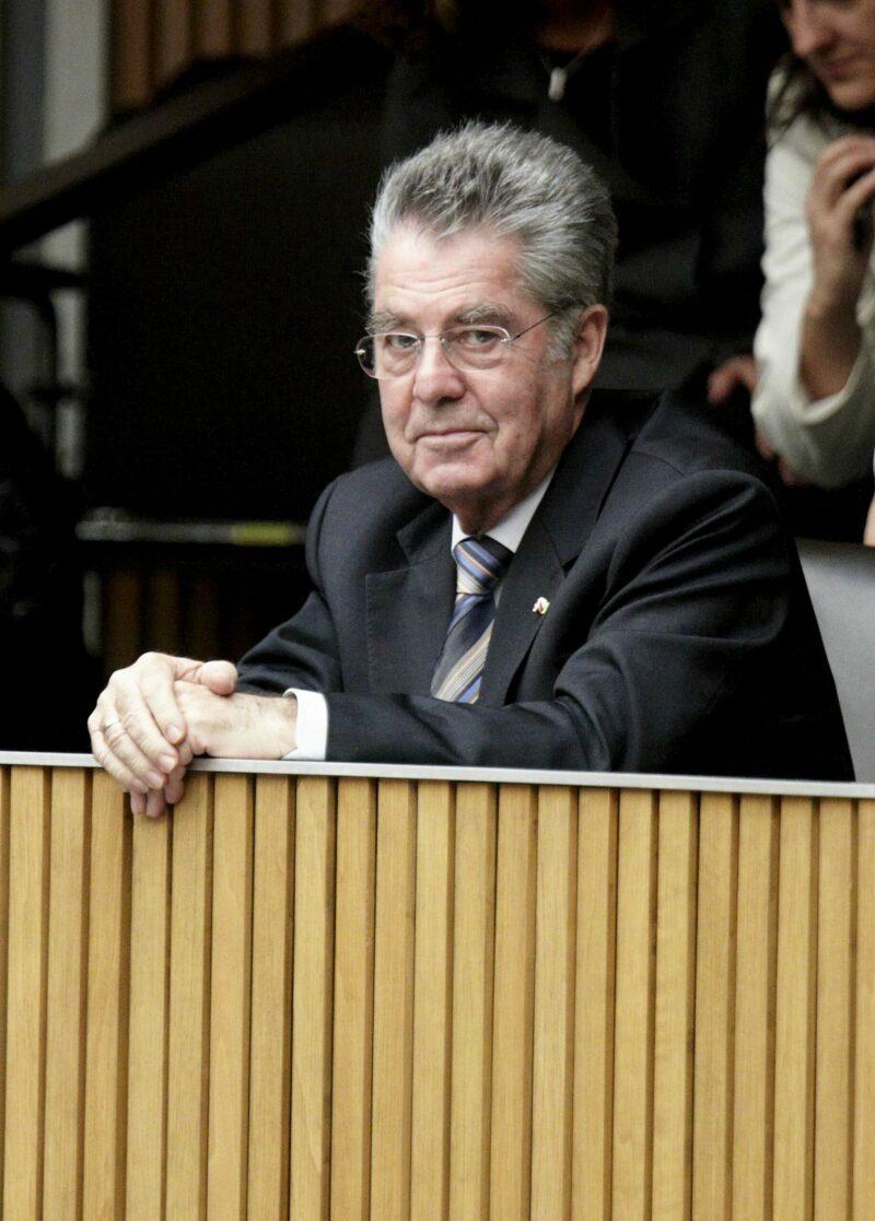 Heinz Fischer als Bundespräsident im Parlament. Foto: Parlamentsdirektion / Bildagentur Zolles / Robert Zolles