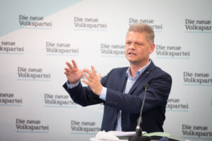 Andreas Hanger: Kurz hat alle Vorwürfe entkräftet. Foto: Elias Pargan