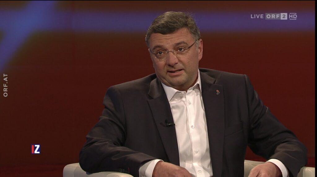 Screenshot: ORF2/Im Zentrum