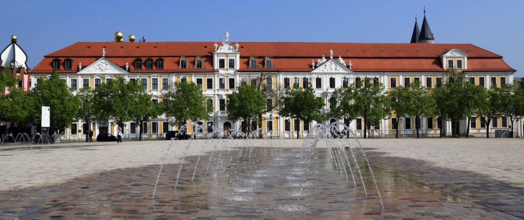 Der Landtag in Magdeburg. Foto: Landtag/Viktoria Kühne
