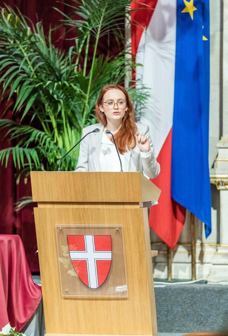 Landtagsabgeordnete Laura Sachslehner Foto: ÖVP Wien