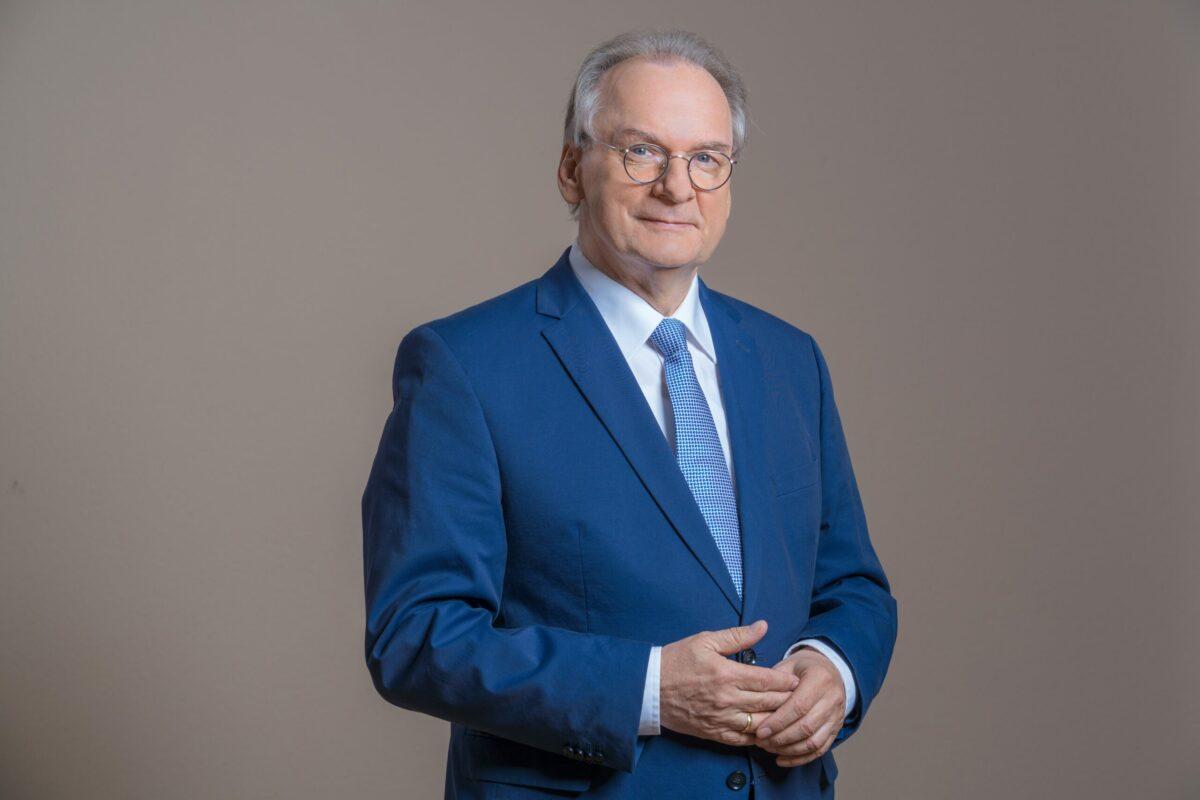 Der Ministerpräsident Sachsen-Anhalts, Reiner Haselhoff (CDU). Foto: CDU