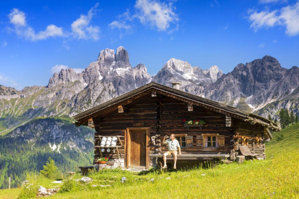 Beliebt im Sommer: Das Salzburger Land/Foto: iStock/DieterMeyrl