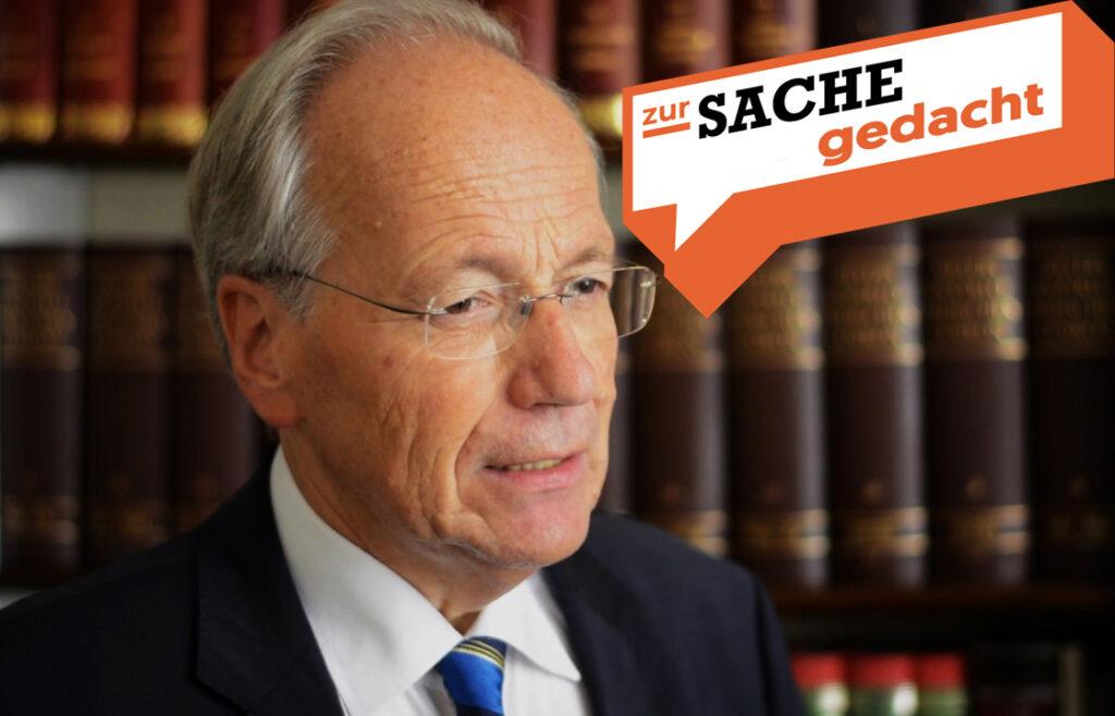Kolumne von Prof. Rudolf Taschner: Zur Sache gedacht; Foto: zur-Sache