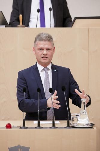 Andreas Hanger, ÖVP-Fraktionsführer im Untersuchungsausschuss; Foto: Parlamentsdirektion, Thomas Topf