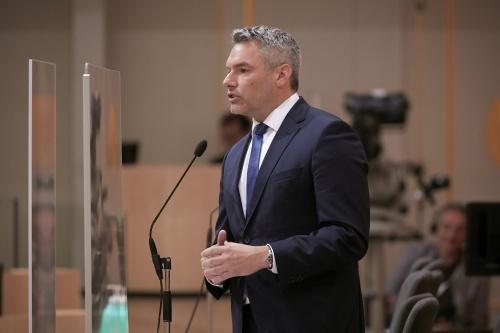 Innenminister Karl Nehammer; Foto: © Parlamentsdirektion / Thomas Topf
