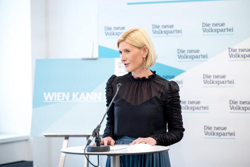 VP-Stadträtin Arnodlner wirft der Stadt Wien Scheinheiligkeit vor.