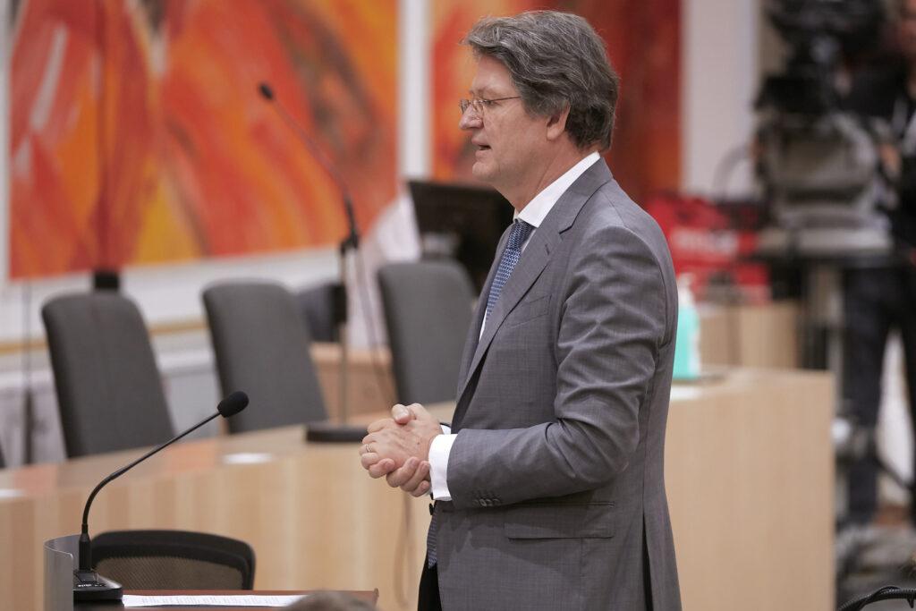 Ex-Kurier-CR Brandstätter als Mandatar der NEOS. Foto: Parlamentsdirektion/ Thomas Topf