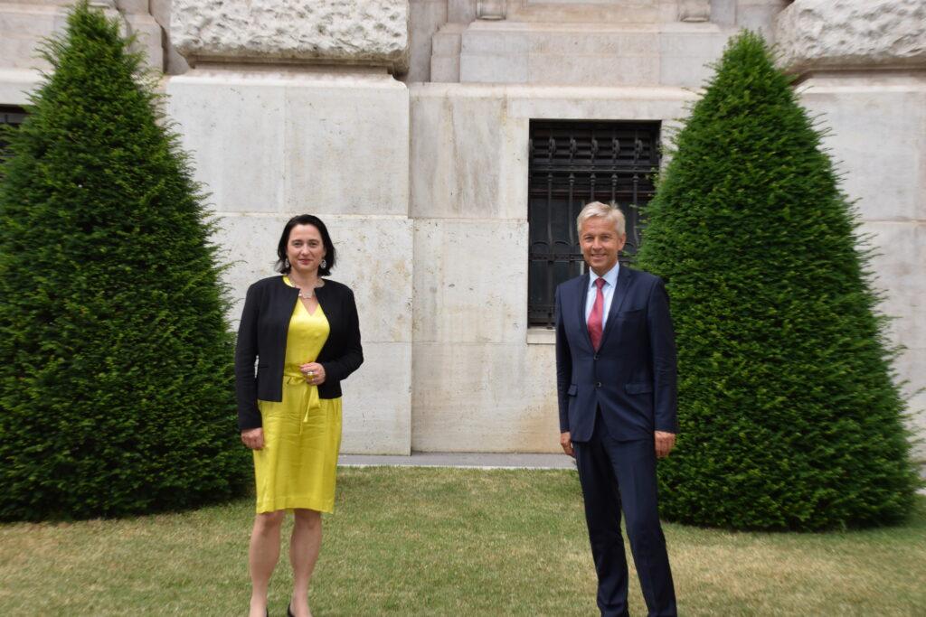 Die VP-Abgeordneten Kugler & Lopatka übernehmen Verantwortung in der OSZE - Foto: VP-Parlamentsklub