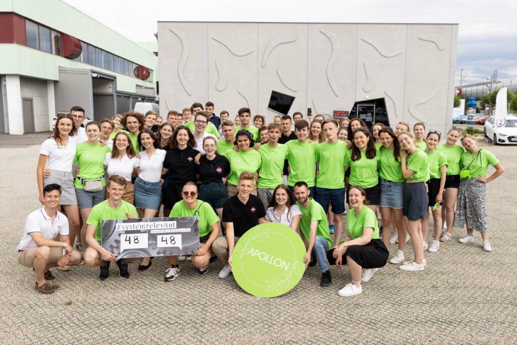 Schülerunion Niederösterreich bei den LSV-Wahlen am 24. und 25. Juni 2021/ Fotos: Schülerunion/Ines Strohmayer