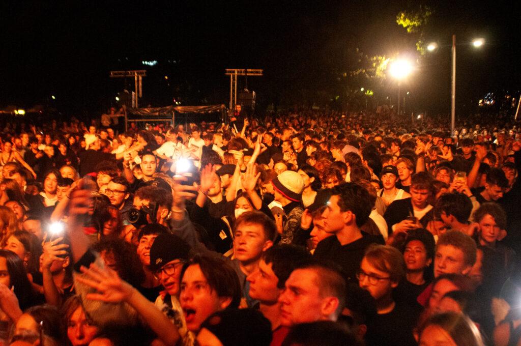 Konzert am Karlsplatz am Samstag. Foto: Luca Faccio, Volkshilfe