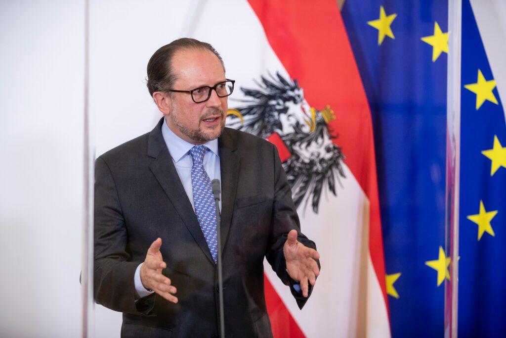 Außenminister Alexander Schallenberg / Foto: BKA/Christopher Dunker