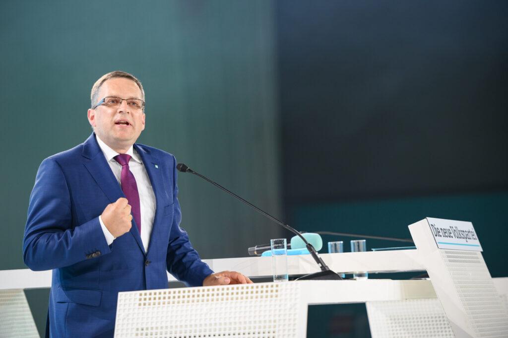 August Wöginger am Bundesparteitag der ÖVP/ Foto: ÖVP/Gruber