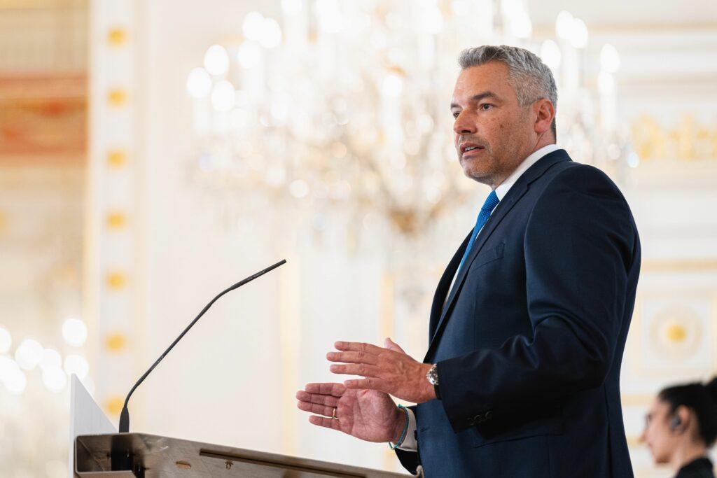 Innenminister Karl Nehammer Foto: BKA/ Florian Schrötter