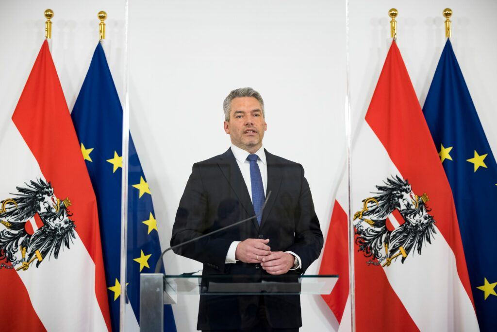 Innenminister Karl Nehammer