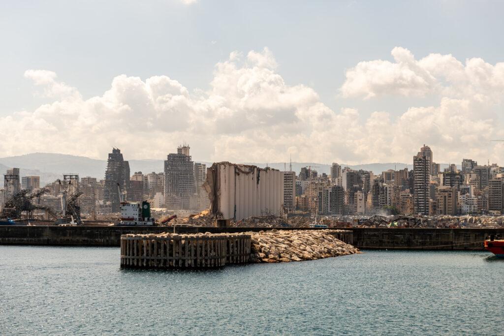 Der Hafen von Beirut. Foto: iStock/ Paul Saad