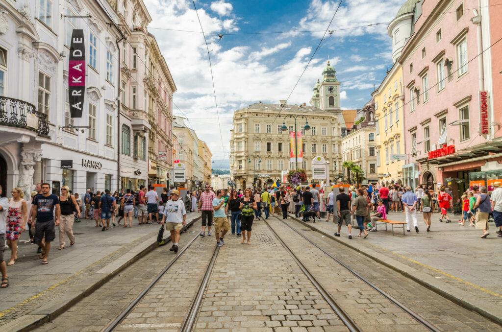 Landstraße in Linz. Foto: iStock/ StockImages_AT