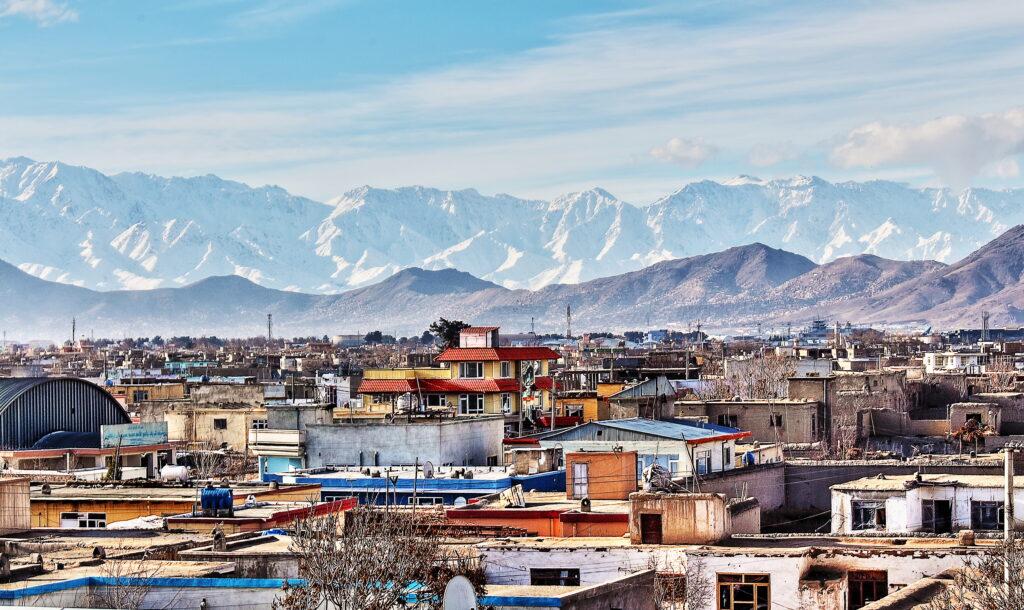 Eine Stadt in Afghanistan Foto: iStock/ sasacvetkovic33