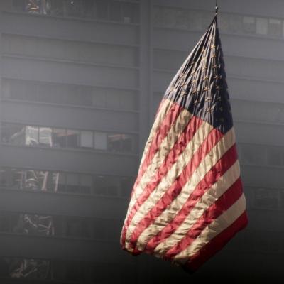 Gedenkstätte am Ground Zero in New York. Foto: S.Thomas/pixelio.de