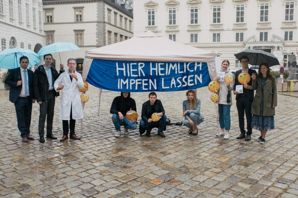 JVP Abgeordnete kritisieren die Doppelmoral der FPÖ - Copyright: ÖVP/Pargan