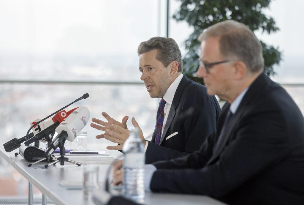 Unternehmen entlasten: Präsident Harald Mahrer und Generalsekretär Karlheinz Kopf. Foto: WKO