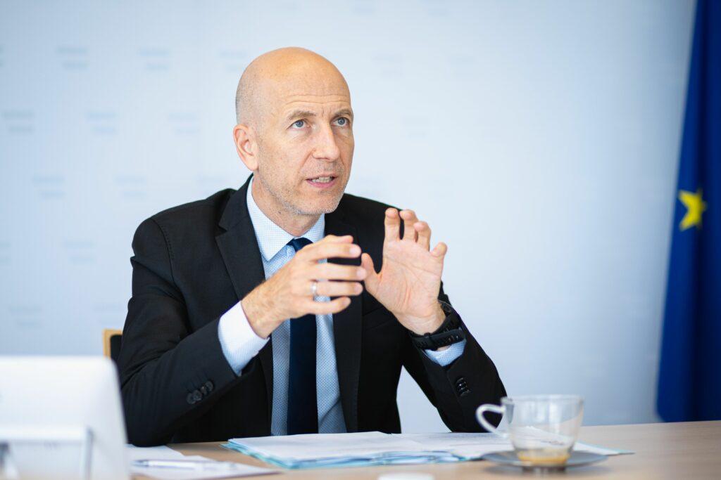 Arbeitsminister Martin Kocher Foto: BKA/Florian Schrötter