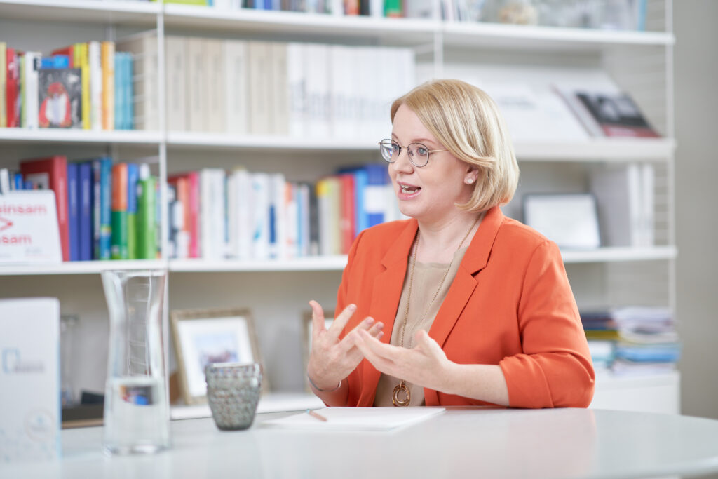 Bettina Rausch, Präsidentin der Politischen Akademie der ÖVP. Foto: Philip Monihart