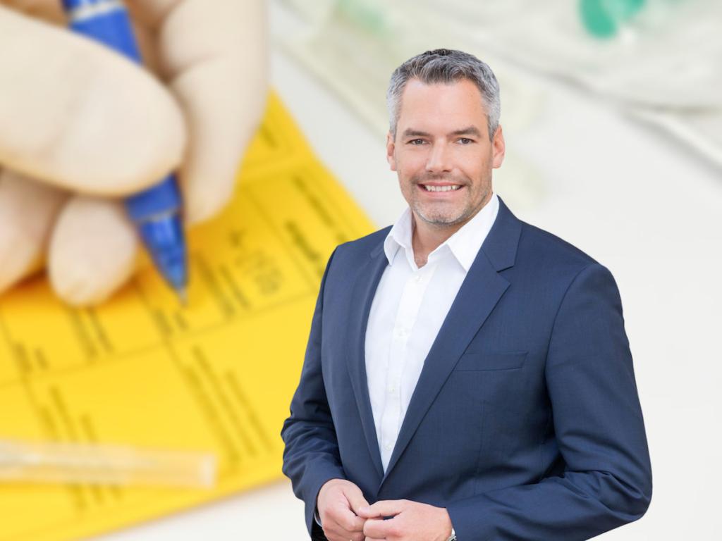 Innenminister Nehammer macht Aktion scharf gegen gefälschte 3G-Nachweise - Foto: ÖVP Wien; iStock.com/ Leonsbox