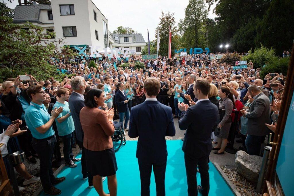 Der Wahlerfolg 2019 jährte sich diese Woche zum zweiten Mal. VP-Wahlkampfauftakt 2019 auf der Politischen Akademie - Foto: Volkspartei