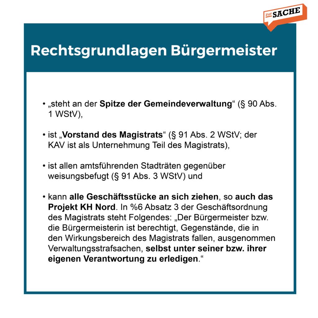 Alle rechtlichen Möglichkeiten von SPÖ-Ludwig auf einen Blick - Grafik: Zur-Sache