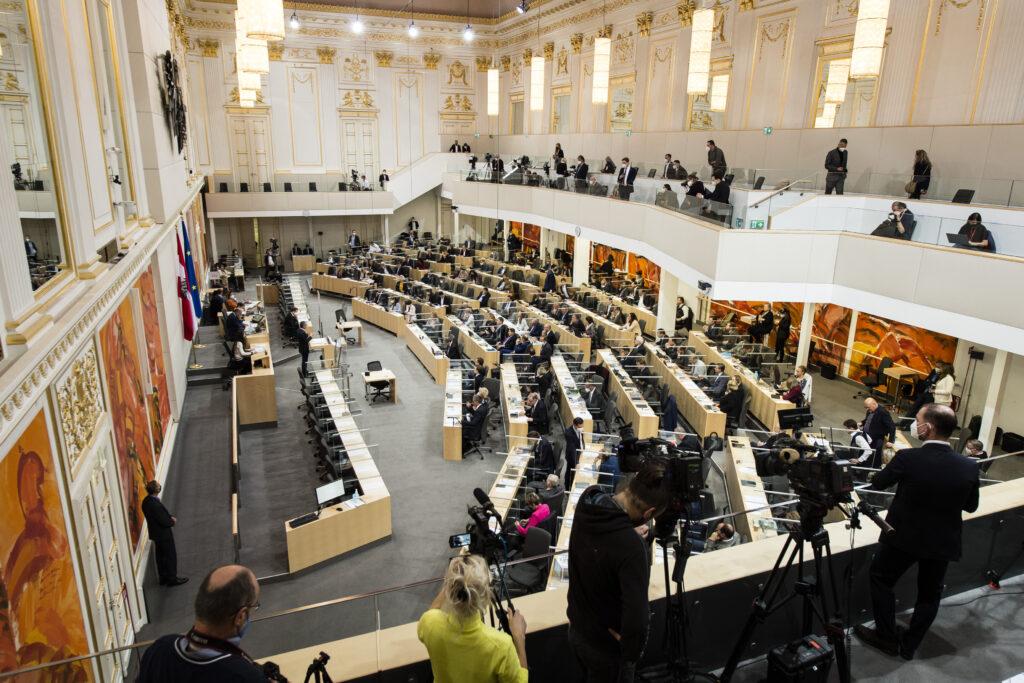 Vor der Budgetdebatte: Rückkehr in das Parlament und Angelobung von Sebastian Kurz. Foto: Parlamentsdirektion / Thomas Jantzen