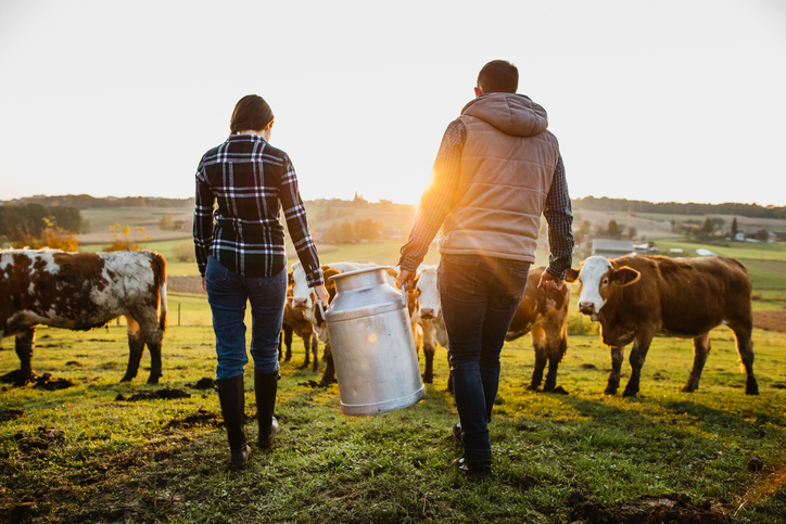 Mit der Steuerreform werden Bäuerinnen und Bauern spürbar entlastet. - Foto: iStock/SimonSkafar