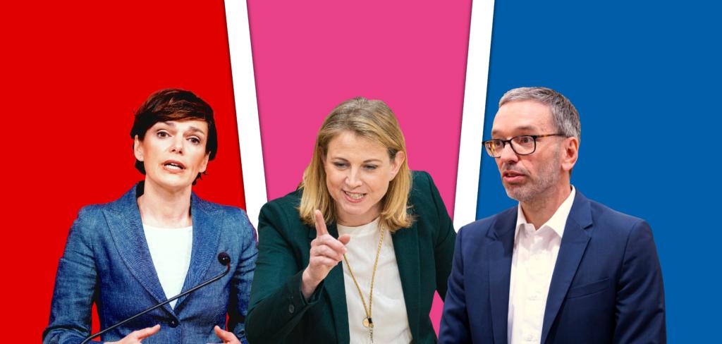 Zurzeit verbünden sich alle Oppositionsparteien gegen Bundeskanzler Sebastian Kurz und gegen die ÖVP. - Fotos: Florian Schrötter